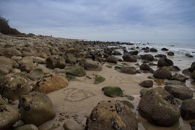 Santa Barbara El Capitan Canyon Glamping Beach Rocks