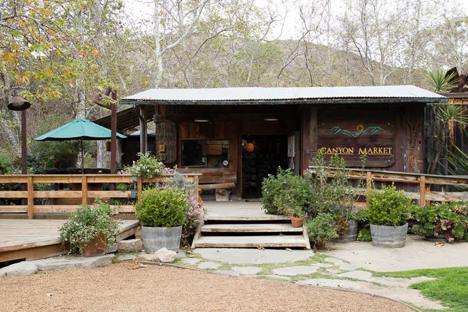 Santa Barbara El Capitan Canyon Glamping Canyon Market